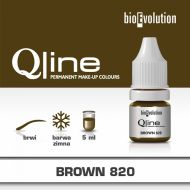BIOEVOLUTION barwnik QLine Brown820 - oliwkowy brąz - large_brown-820-new-1.jpg